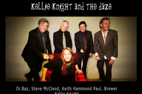 Kellie Knight & the Daze with Barry Ferrier